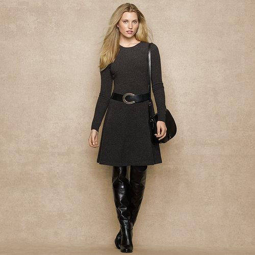 ウール ジャージー セータードレス