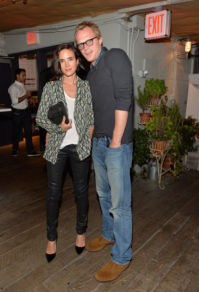 Jennifer Connelly and Paul Bettany at the Soho House 10th anniversary p