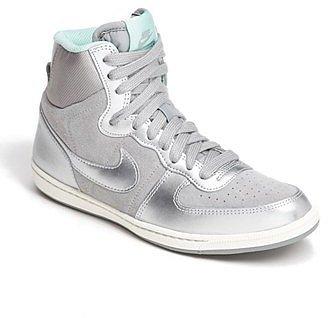 Nike 'Terminator Lite' High Top Sneaker (Women) Womens Silver/ Metallic Silver/ Slate Size 9.5 M 9.5 M