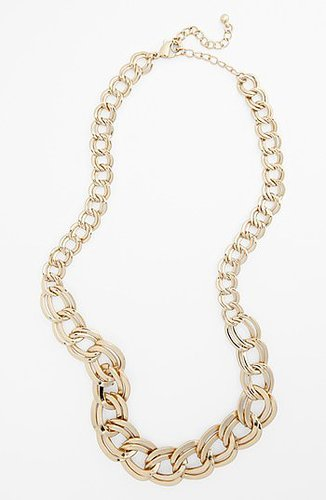 Stephan & Co. Chunky Chain Necklace (Juniors) Gold One Size