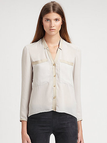 Helmut Lang Washed Crepe Shirt