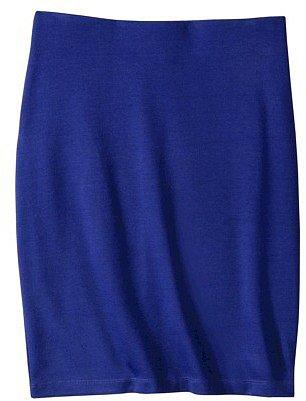 Mossimo® Women's Ponte Pencil Skirt - Assorted Colors
