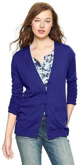 Luxlight V-neck pocket cardigan