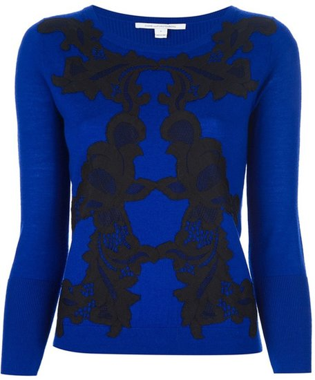 Diane Von Furstenberg 'Sharzia' sweater