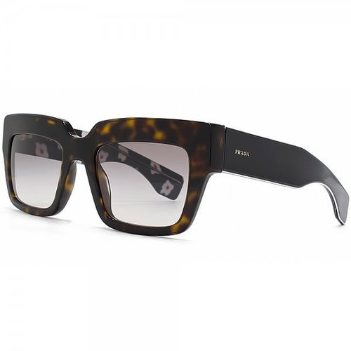 Prada Peome Sunglasses in Havana Grey Gradient