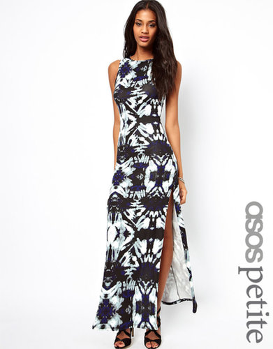 ASOS PETITE Exclusive Maxi Dress In Print