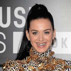 Katy Perry Grills at VMAs 2013