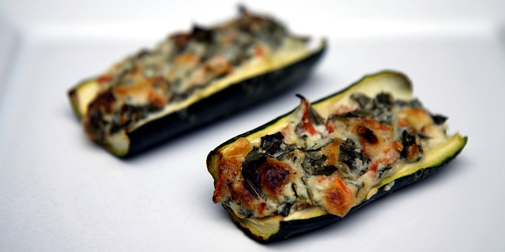 Come Sail Away! 25-Calorie Low-Carb Zucchini Boats