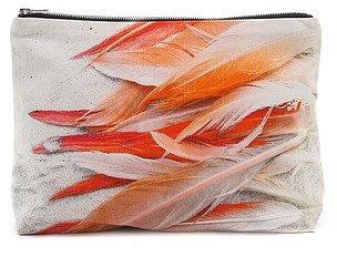 Samudra Flamingos Pouch