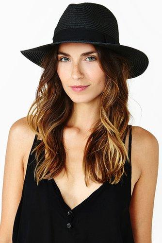 Roma Panama Hat - Black