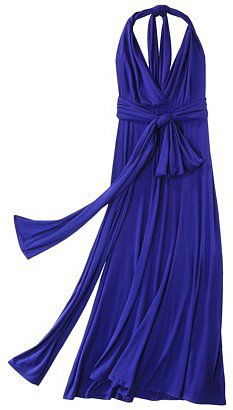 Mossimo® Womens Multi Wrap Maxi Dress - Assorted Colors