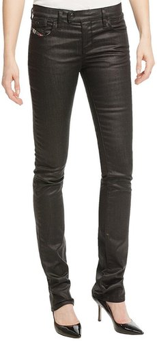 Diesel Livy Biker Skinny Jeans (For Women)