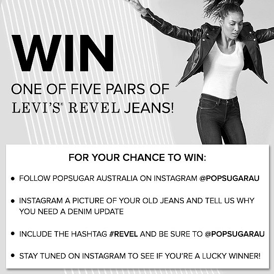 Instagram Your Jeans For a Chance to Win a Pair of Levi's!