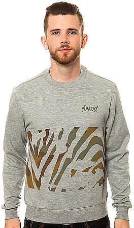 Elwood The Zebra Camo Crewneck Sweatshirt