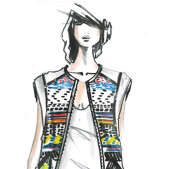 Designer Sketches Spring 2014 | New York Fashion Week