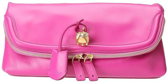 Alexander McQueen - Padlock Clutch (Black) - Bags and Luggage