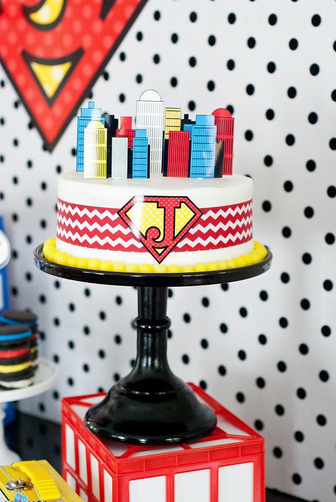 A Superhero Cake
