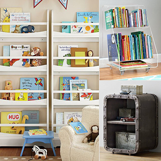 Book storage for kids for small spaces popsugar moms - Kids room storage ideas for small room ...