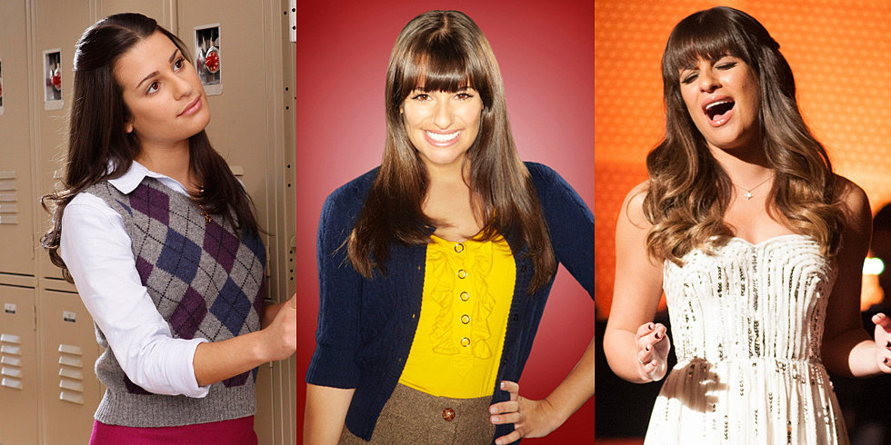 Lea Michele's Glee Transformation