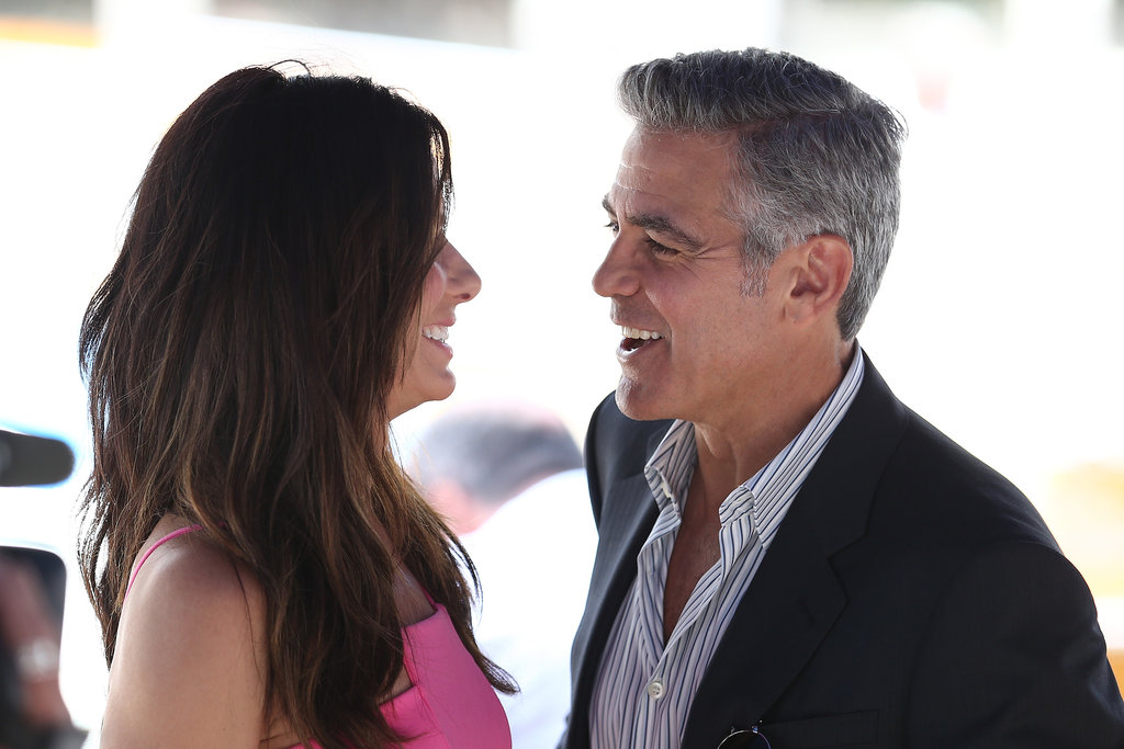 George Clooney and Sandra Bullock paired up for their Gravity photocall at the Venice Film Festival.