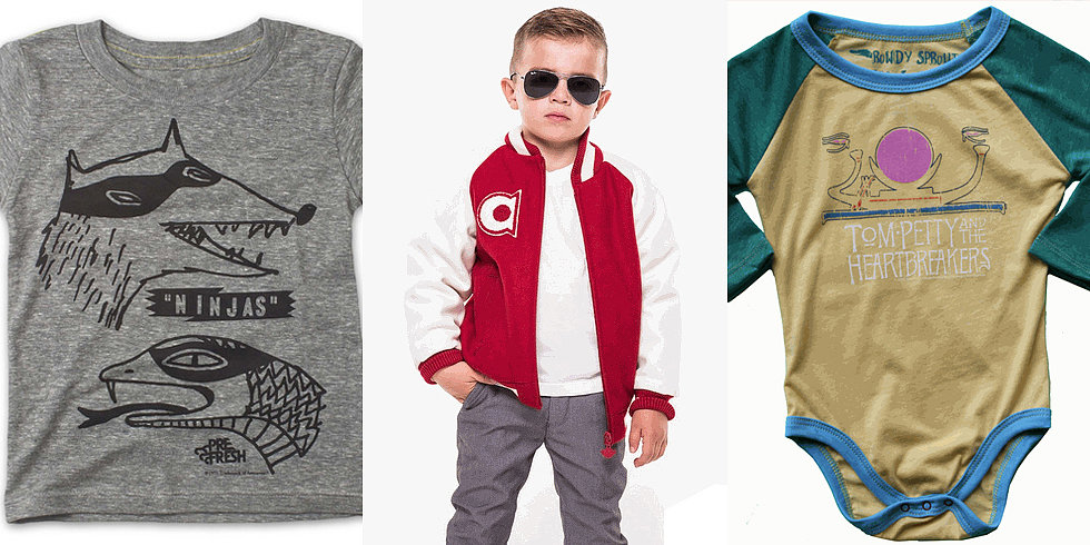 Little Dudes Only Is the Shop For Tiny Rockers, Punks, and More