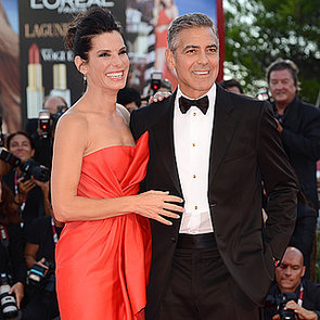 George Clooney and Sandra Bullock at Venice Film Festival