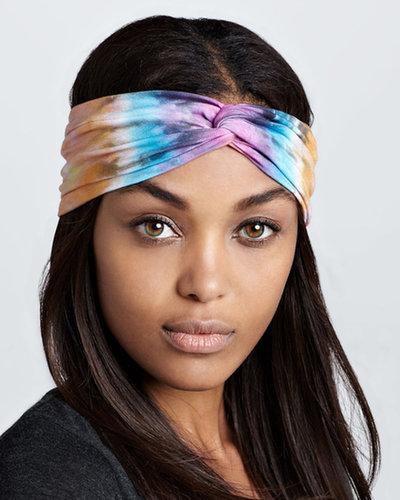 Brightly Twisted Tie-Dye Turban Headband