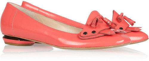 Nicholas Kirkwood Tasseled leather loafers