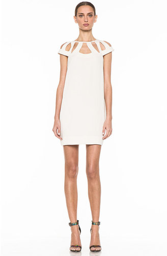 Diane von Furstenberg Achava Dress in Hay Stack