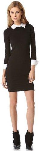 Alice + olivia Courtnee Combo Cuff Dress