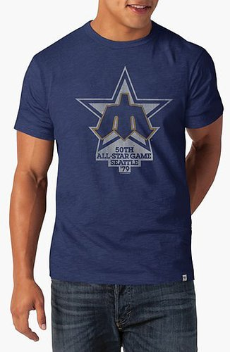47 Brand 'Seattle Mariners All-Star Game' Graphic T-Shirt Blue Large
