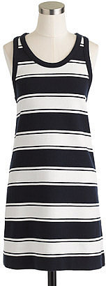 Rugby-stripe tank dress