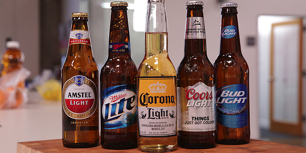Which Is the Tastiest Light Beer of Them All?