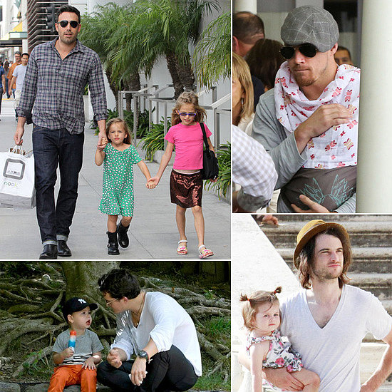 Celebrate Father's Day With Pictures of Famous Dads!