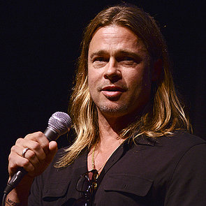 Brad Pitt Appears at Telluride Film Festival 2013