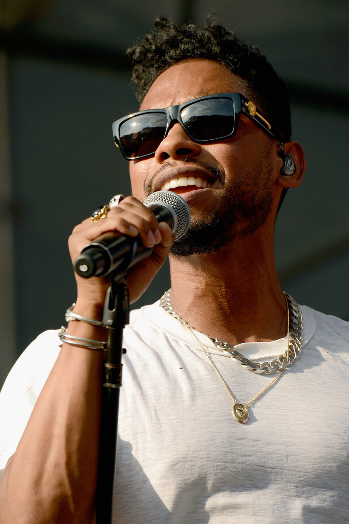 Miguel performed at the Made in America Festival in Philadelphia.