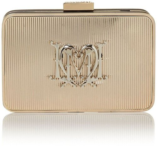 Love Moschino Art deco clutch bag