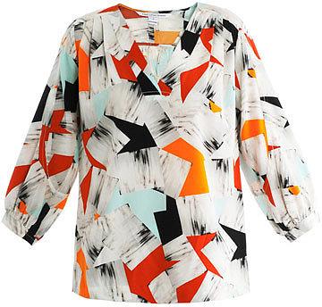 Diane Von Furstenberg New Cahil blouse
