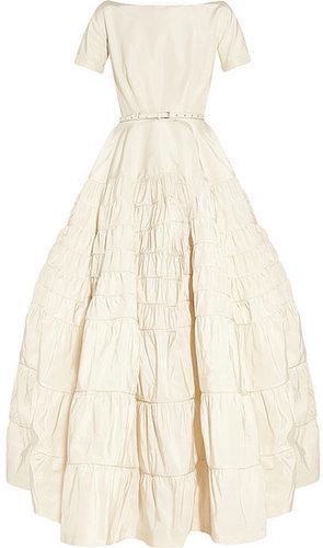 Rochas Taffeta-twill gown