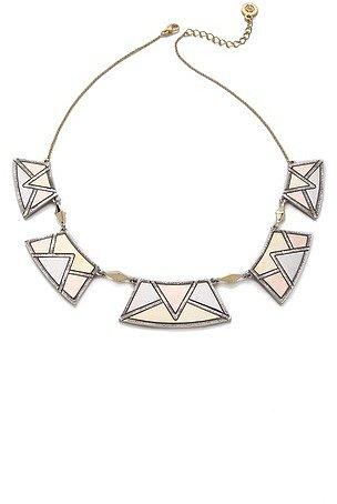 House of harlow 1960 Sancai Collar Necklace