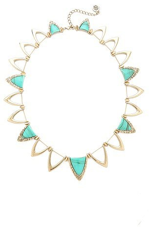 House of harlow 1960 Goddess Trinity Collar Necklace