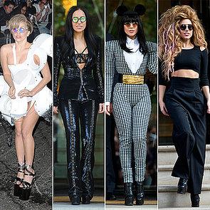 Lady Gaga Fashion in London