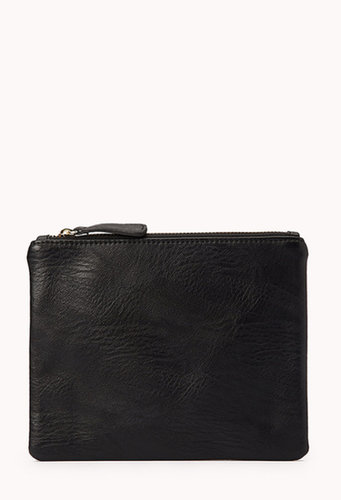 FOREVER 21 Classic Faux Leather Pouch