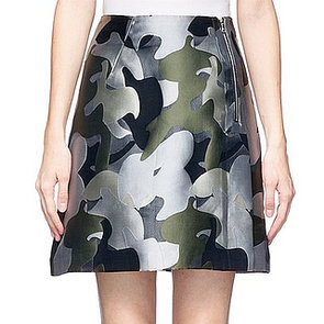 Whistles Camouflage Skirt | Camo trend