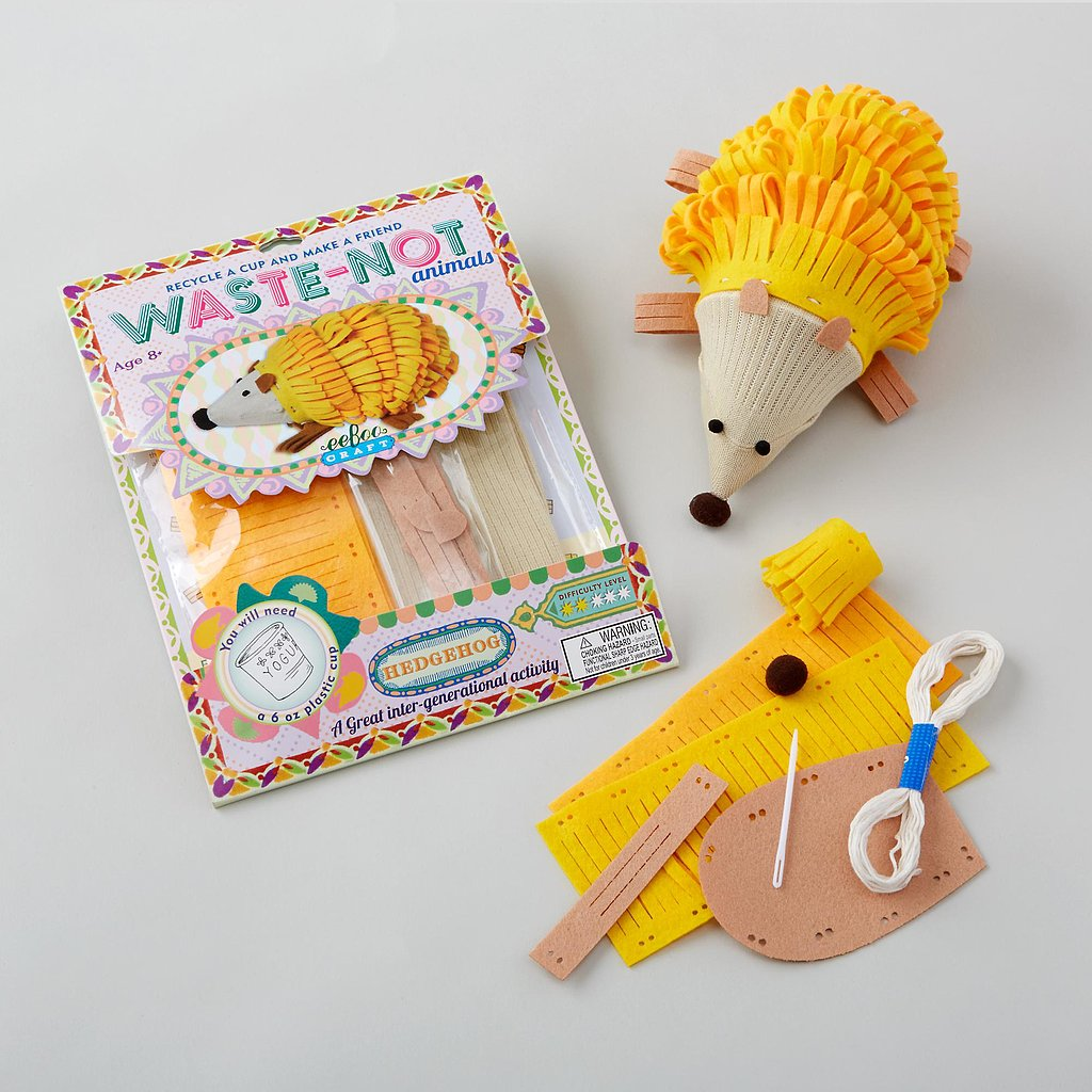 Kid crafts the land of nod waste not animal kit the for Waste material craft for kid