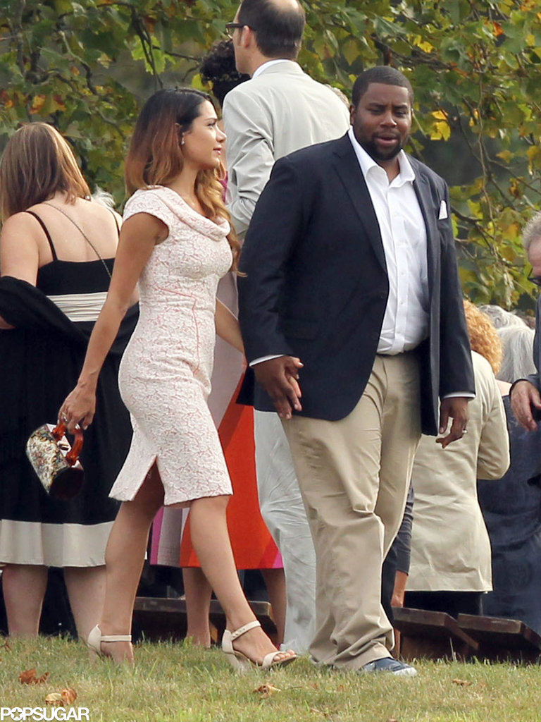 Kenan Thompson was a guest at Seth Meyers's September 2013 wedding in Martha's Vineyard.