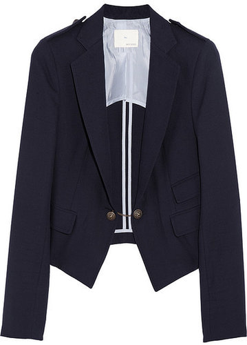 Band of Outsiders Woven cotton blazer