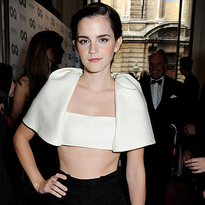 Emma Watson Style at 2013 GQ Men of the Year Awards