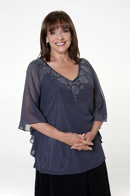 Valerie Harper  How you know her: She played Rhoda on classic sitcom The Mary Tyler Moore Show.  Her DWTS stereotype: The person your mom roots for. Her partner: Tristan McManus