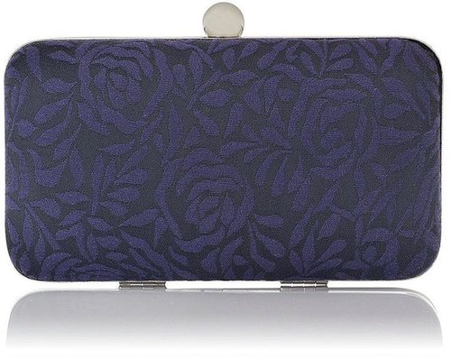 Kaliko Jacquard box clutch bag